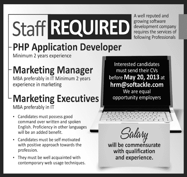 PHP Application Developer jobs in Software house