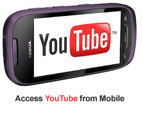 unblock YouTube in mobile