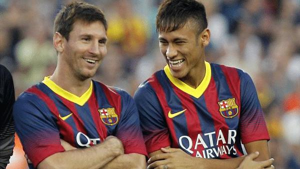 messi and neymar 2013