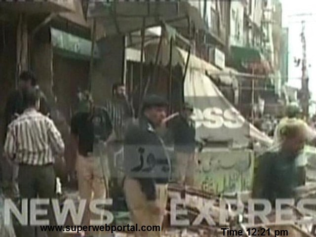 Breaking News Blast in old Anarkali market Lahore