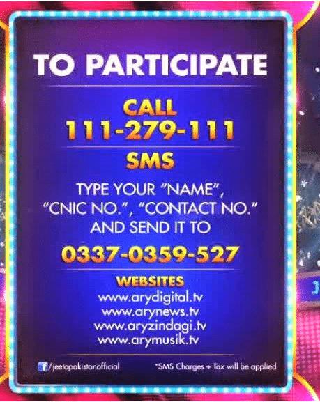 Jeeto Pakistan Online Registration and Tickets