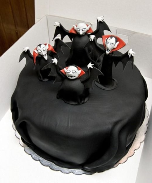 dark black cake for boys
