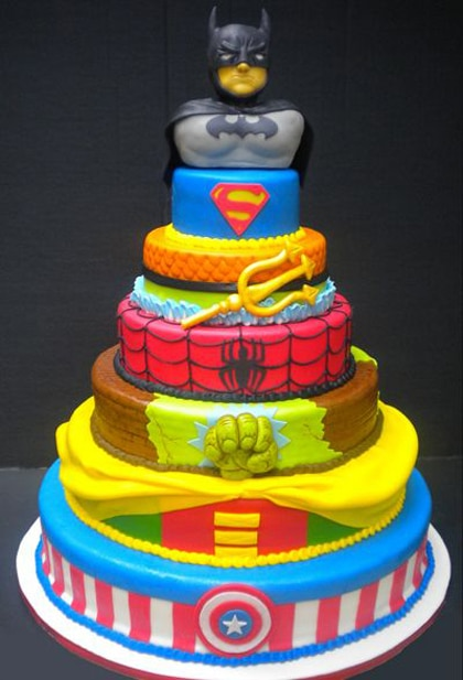 Kids Batman Birthday Cake Ideas 27163 Designs For The