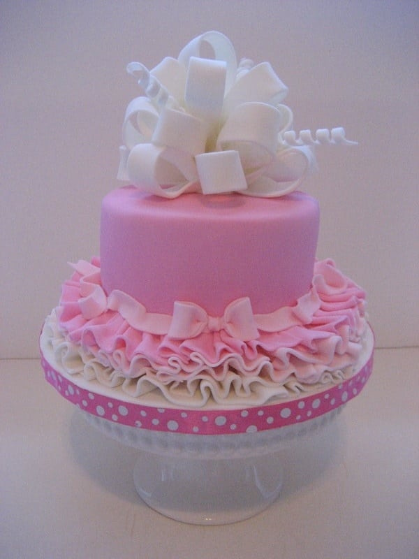 Cake Designs For Baby Girls