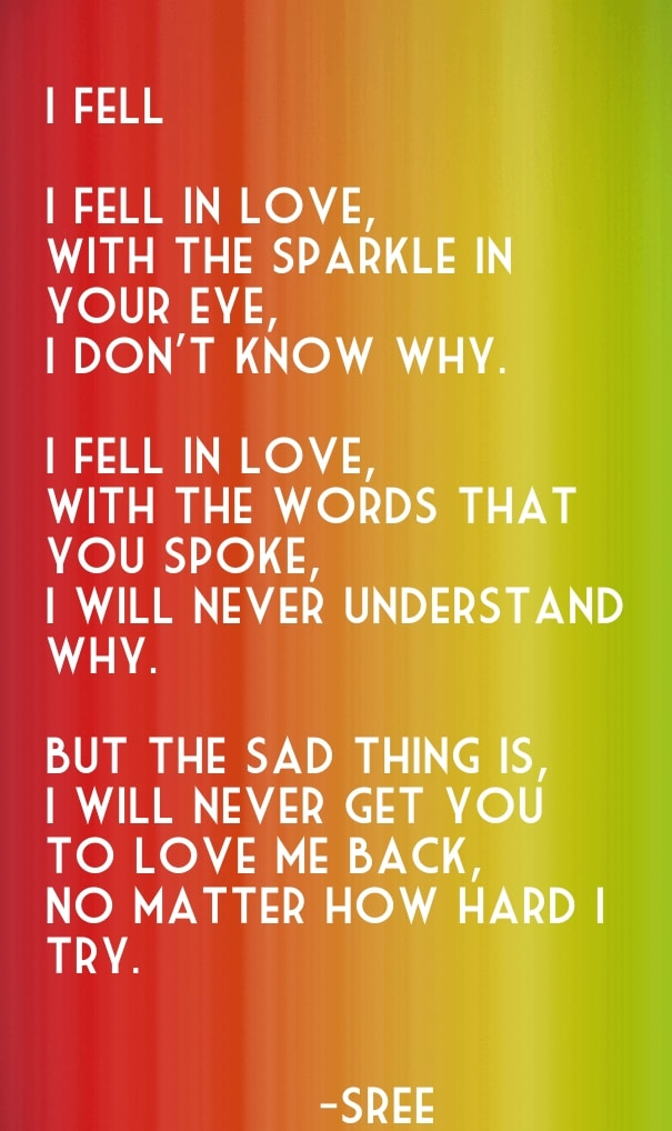 Sad Love Quotes that Make you Cry: