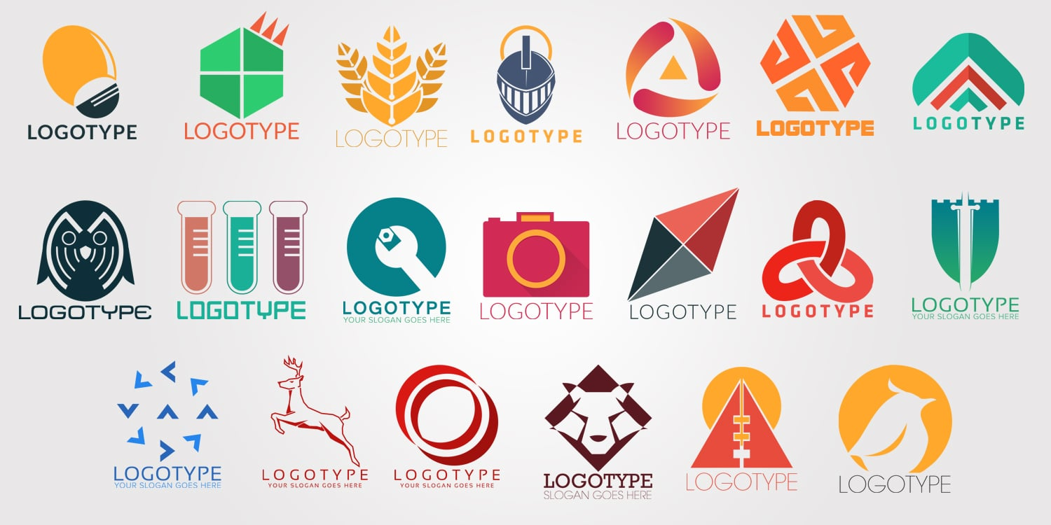Free Company logos download in PSD