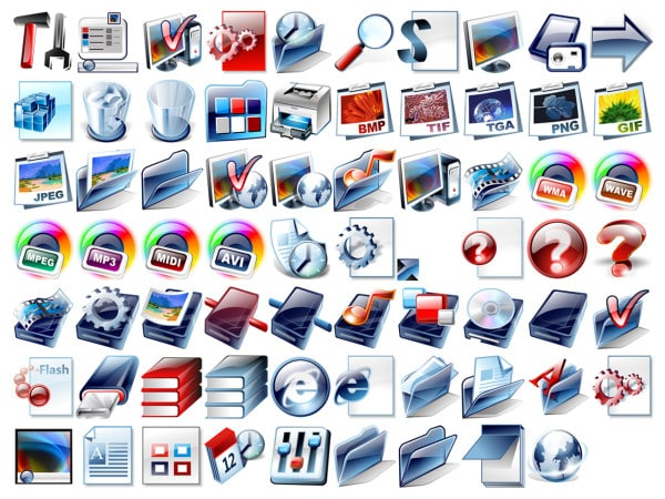 Royalty free Social Graphic icons
