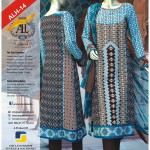 Blur color Aamir liaquat lawn prints