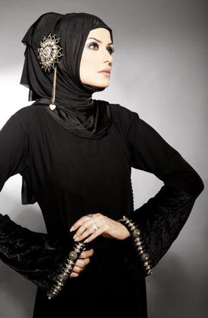 Abaya and hijab collection 2015