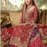 Bridal Gharara for Barat dresses