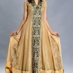 Fashionable Mehndi Dress 2015