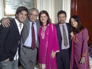 Imran Abbas Family Pics