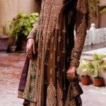 Pakistani barat dresses 2015 for brides and girls