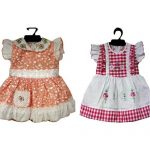 Simple cotton frocks for summer