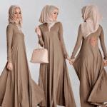 abaya and hijab full styles 2016