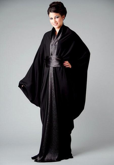 arabic abaya design 2015