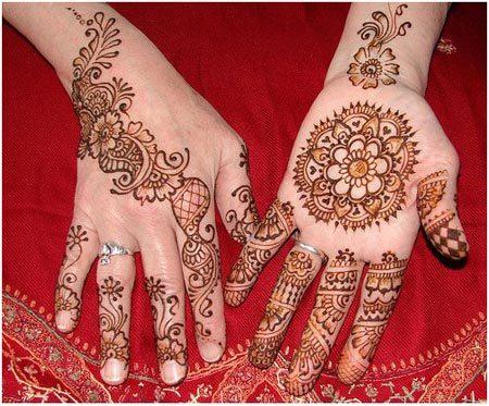 latest Arabic henna designs 2015