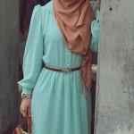 arabic hijab and baya match colors collection 2016
