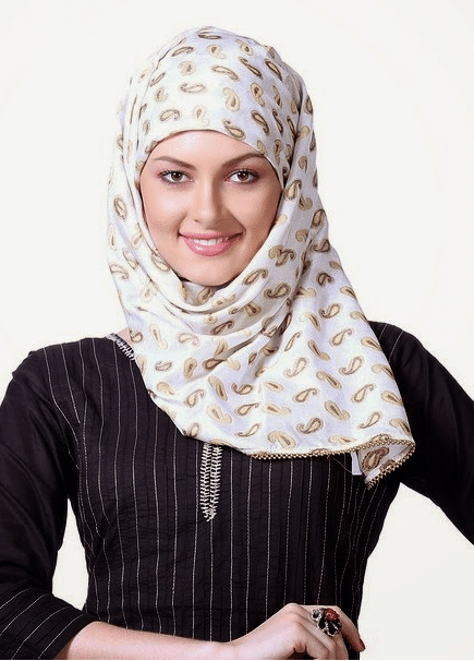 simple arabic hijab styles