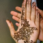 Arabic style mehendi designs 2015 for weddings