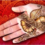 shaded mehndi styles for women
