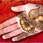 shaded mehndi styles for women