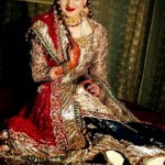 beautiful new designs of barat wedding function dresses for girls and brides