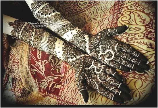 black henna designs 2015