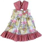 colorful party wear frock for kids
