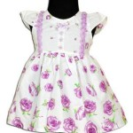 comfortable cotton frocks for kids 2015