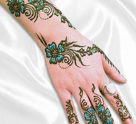 Modern Mehndi Designs 2015 for hands