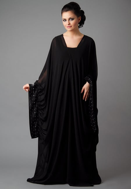 fashionable abaya for girls
