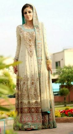 Pakistani indian wedding dresses full sleeves
