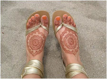 Mehndi Designs Feet N : Simple mehndi designs for beginners step by video dailymotion