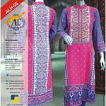 Latest collection of lawn by Aamir Liaquat Hussain