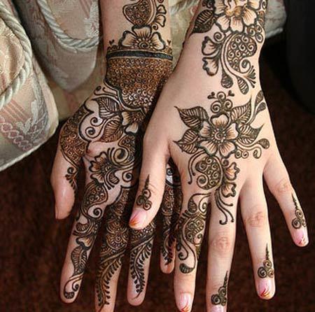 Mehndi designs for hands trends 2015