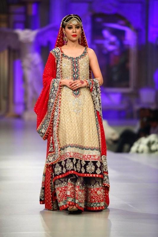 Pakistani bridal dresses for walima