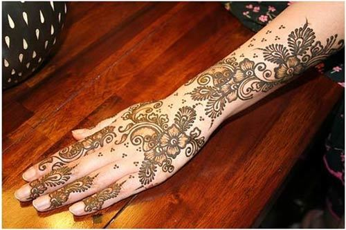 Indian mehndi styles for girls