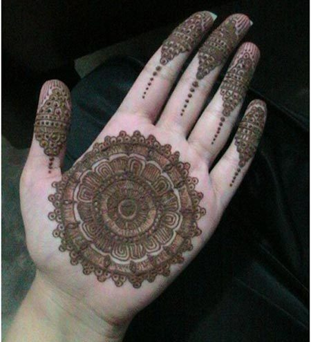 modern mehndi designs for girls