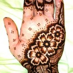 Muslim girls mehndi Designs