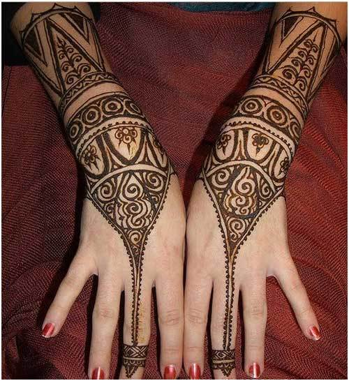 Modern Henna Designs: Simple Arabic Mehndi Designs For Hands & Feet 2016