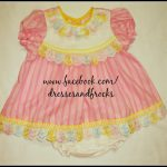 new born baby cotton frock