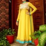 pakistani clothes design for mehndi wedding 2016
