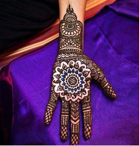 round henna designs for hands