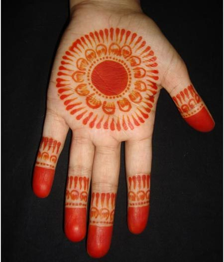 round henna designs for overage women