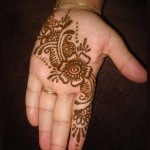 simple arabic mehndi designs for beginners