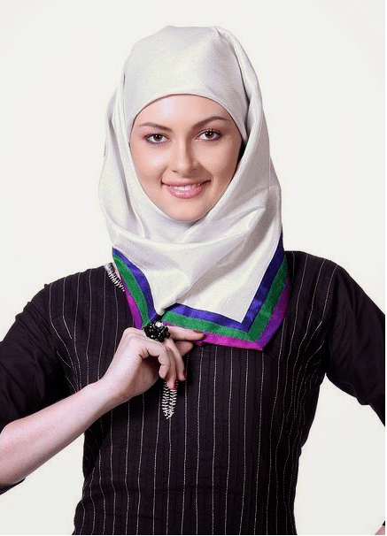 simple hijab styles for girls