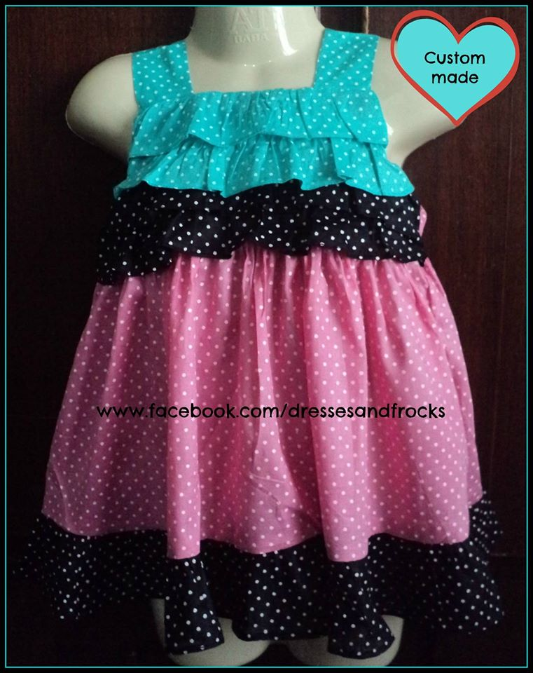 19ac6d61e2ad Pure Cotton Baby Frocks designs 2016
