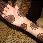 Unique flower mehndi henna design 2015 full hand