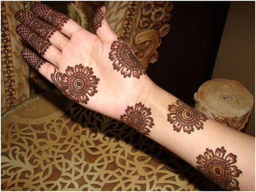 Mehndi Henna Design : Simple arabic mehndi designs for hands feet